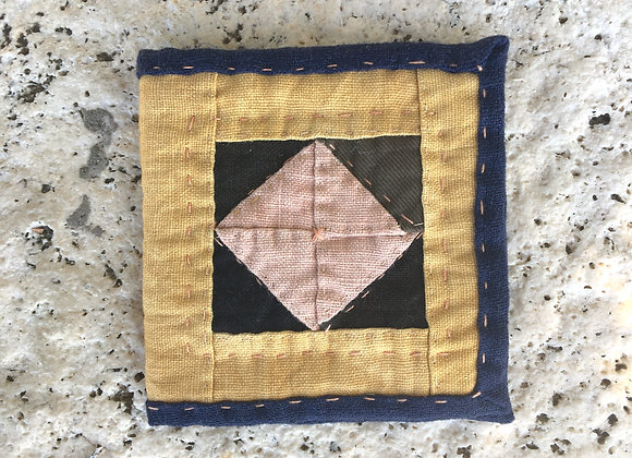 Hand Quilted Needle Book K