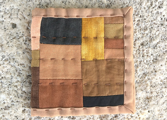 Hand Quilted Needle Book F