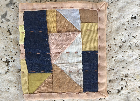 Hand Quilted Needle Book G