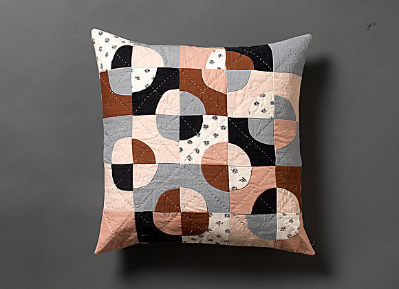 Freeform Circles Cushion Cover