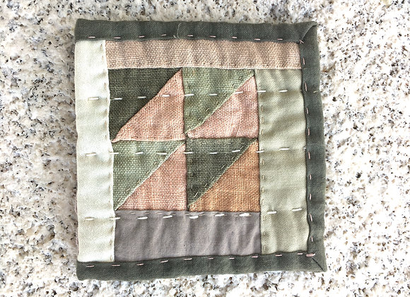 Hand Quilted Needle Book A