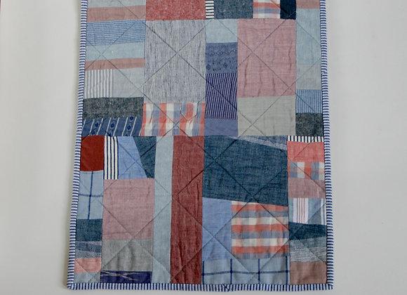 Improv Stripe Mini Quilt