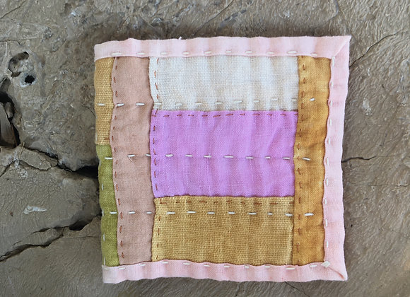 Hand Quilted Needle Book R