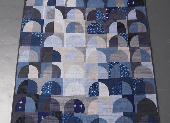 Blue Arches II Quilt