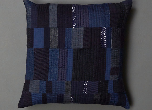 Stacked Patchwork Cushion Cover
