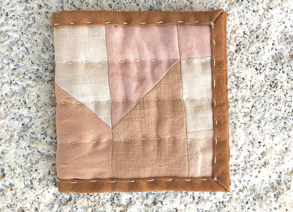 Hand Quilted Needle Book B