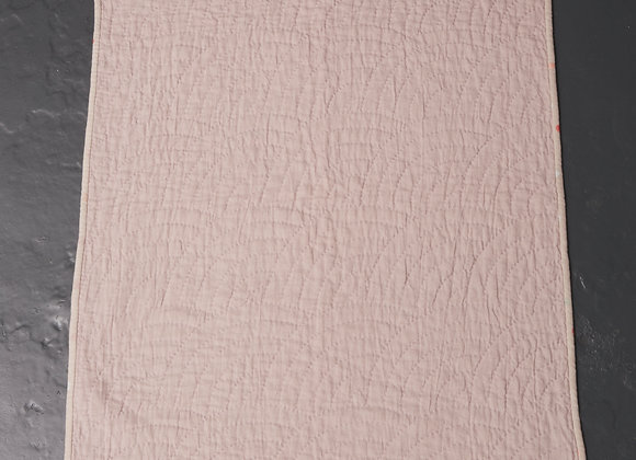 Fan Wholecloth Baby Quilt Lilac/Dove