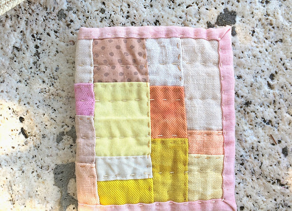 Hand Quilted Needle Book U