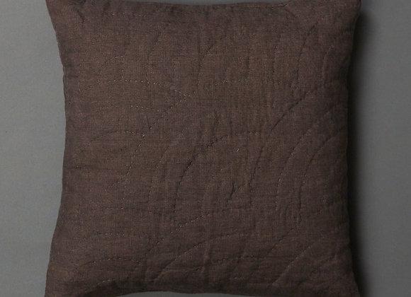 Full Fan Cushion in Charcoal