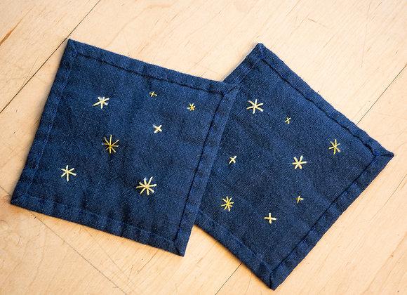 Pair of Starry Night Mats