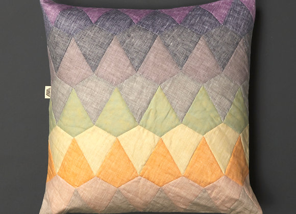 Kite Patchwork Cushion Cover Bright