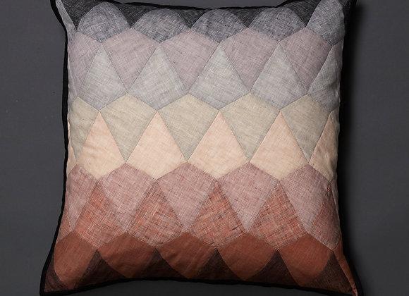 Kite Patchwork Cushion Cover Neutral
