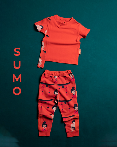 Sumo Desen Parçalı Takım