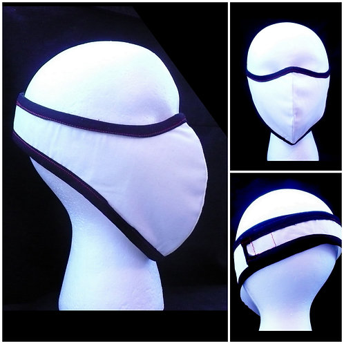Behind the Head Full Face Mask with Trim