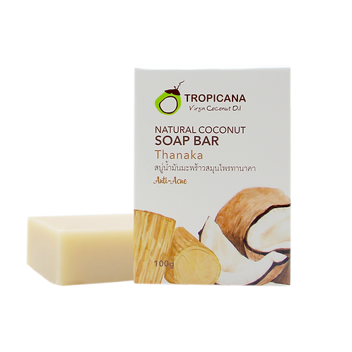 "Натуральное мыло ""THANAKA""/NATURAL COCONUT SOAP BAR THANAKA 100 G"