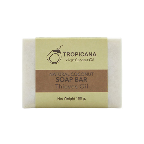 "Натуральное мыло ""THIEVES OIL""/NATURAL COCONUT SOAP BAR (THIEVES OIL) 100 G"