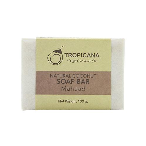 "Натуральное мыло ""MAHAAD""/NATURAL COCONUT SOAP BAR (MAHAAD) 100 G"