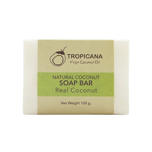 "Натуральное мыло""COCONUT""/NATURAL COCONUT SOAP BAR (REAL COCONUT) 100 G"