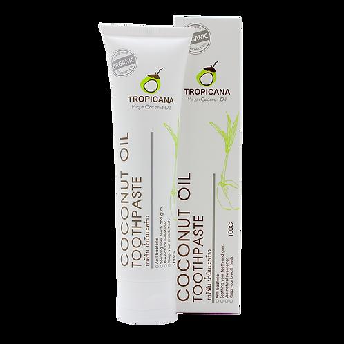 Органическая зубная паста с маслом кокоса ,100гр/Organic toothpaste,Tropicana