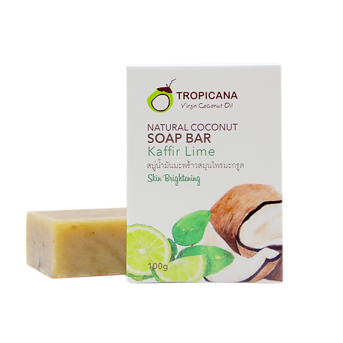 "Натуральное мыло ""KAFFIR LIME""/NATURAL COCONUT SOAP BAR KAFFIR LIME 100 G"