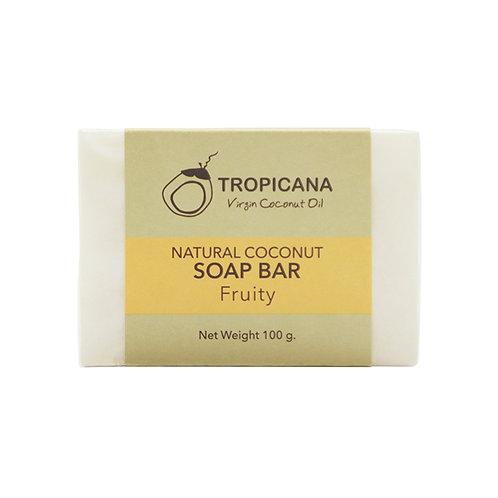 "Натуральное мыло ""FRUITY""/NATURAL COCONUT SOAP BAR (FRUITY) 100 G"