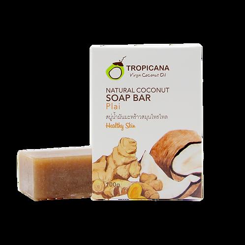 "Натуральное мыло ""PLAI""/NATURAL COCONUT SOAP BAR PLAI 100 G"