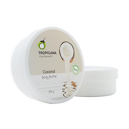 Крем-масло для тела/COCONUT BODY BUTTER (NON-PARABEN) (COCONUT) 250 ML