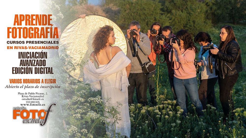 Cursos de fotografía en Rivas