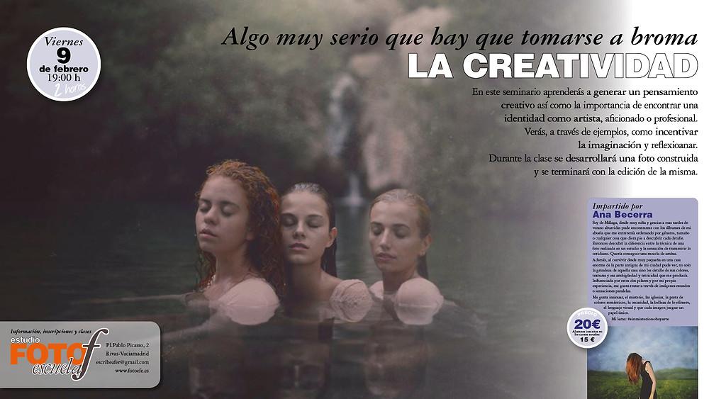 Seminario de Creatividad impartido por Ana Becerra