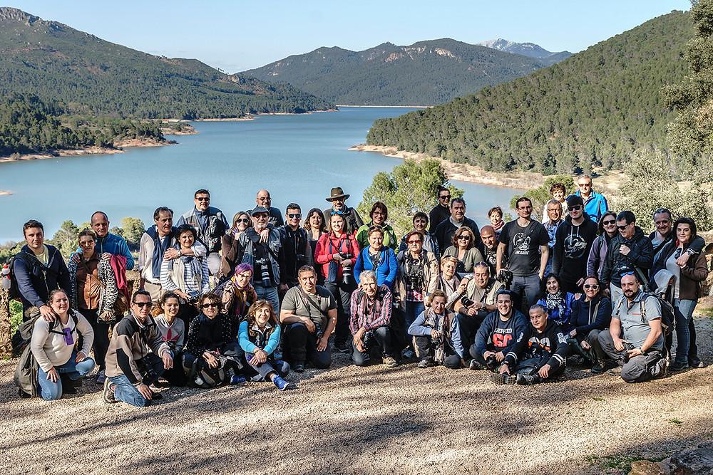 Asistentes al IV Viaje Fotográfico de FotoF