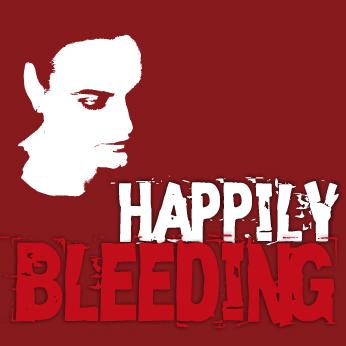 Happily Bleeding. Portada