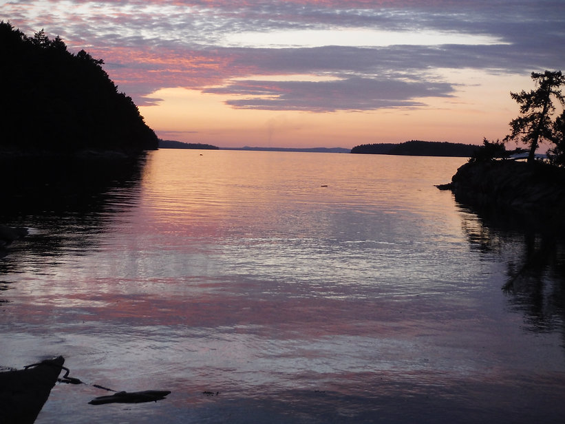 Westcoast sunset glow.JPG
