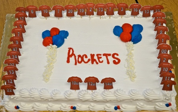 Fall Rockets Day: Awesome Cake!