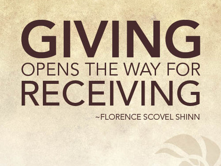 Giving and Sharing