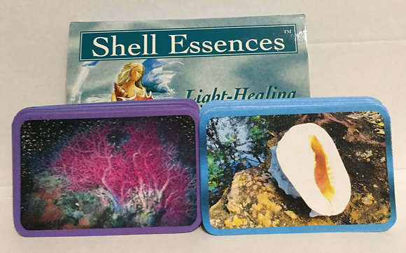 Healing, Coral & Infinite energy cards and booklet