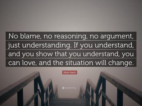 No Blame, No Pain.