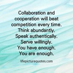 Compete or Cooperate