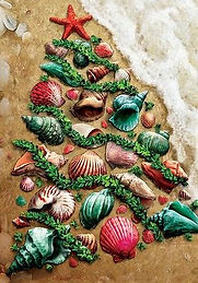 SEASHELL-CHRISTMAS-TREE-Shore-BEACH-COAS