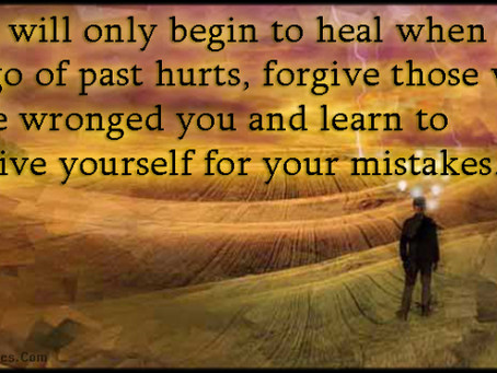 Forgiving our Mistakes