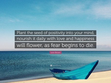 Planting the seeds of positivity
