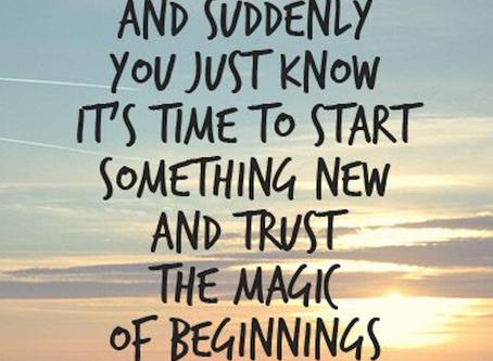 Starting Anew