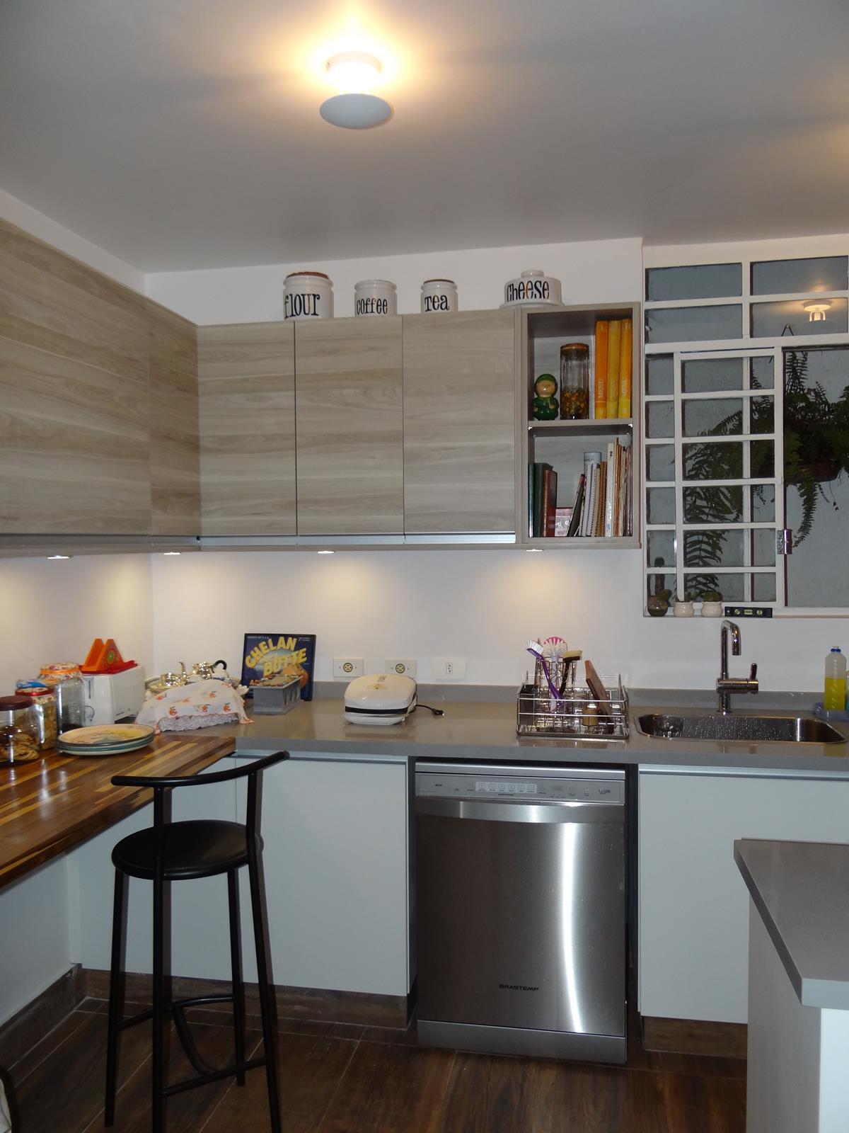 Bancadas de cozinha em Quartzo Cinza