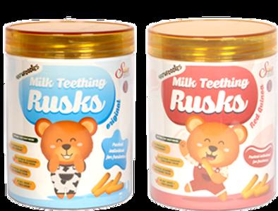 Natufoodies Milk Teething Rusks