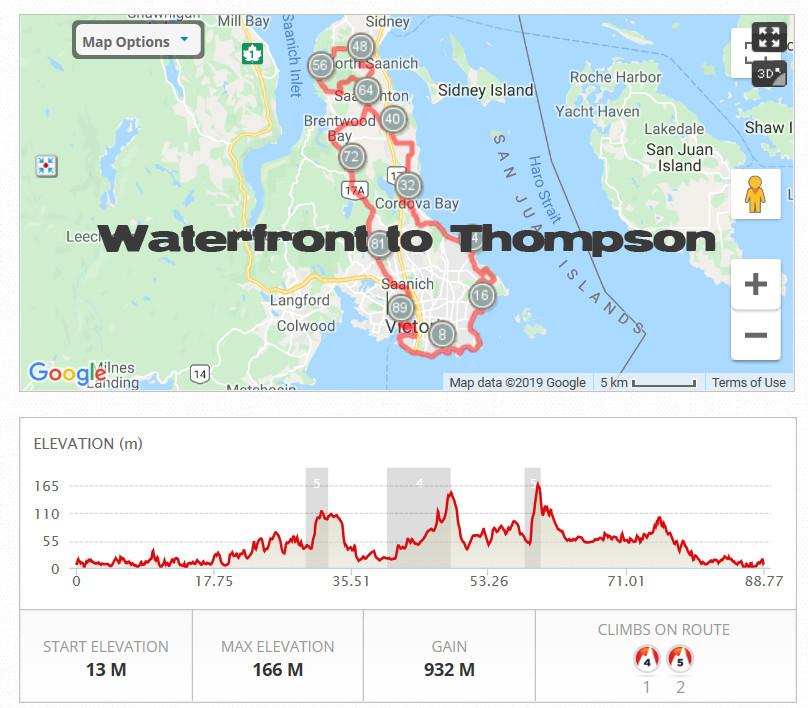 Waterfront to Thompson Pl.