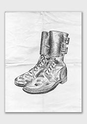 Outander - Trenchfoot Boot Line Illustration