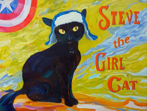 Steve the Girl Cat