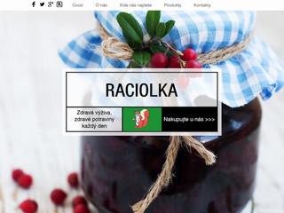 Výroba webových stránek www.raciolka.com dokončena!