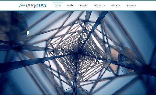 Výroba www stránek pro Greycom s.r.o.