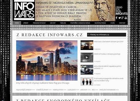 Tvorba webových stránek www.zpravy-infowars.com