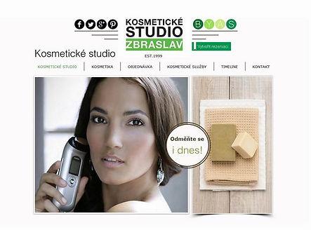 Tvorba webových stránek www.kosmeticke-studio.com